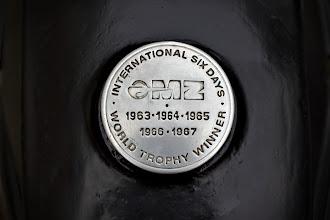 Photo: Glorreiche Tage ... Ein Blick auf meinen Tankdeckel erfreut mich immer wieder :)  1965 ISDT Isle of Man Video 1 of 3, Shell Oil Presentation