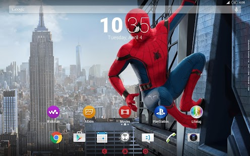 XPERIA™ Spider-Man: Homecoming Theme- screenshot thumbnail