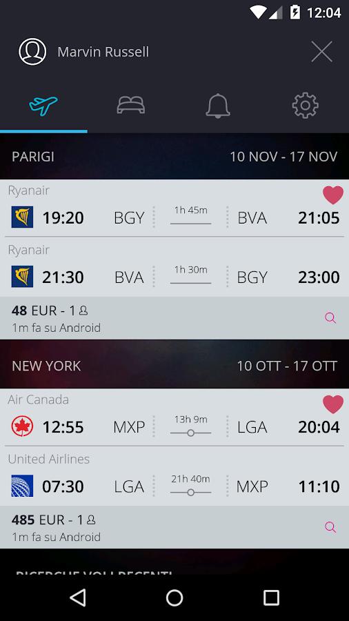 momondo Voli e Viaggi Low Cost- screenshot