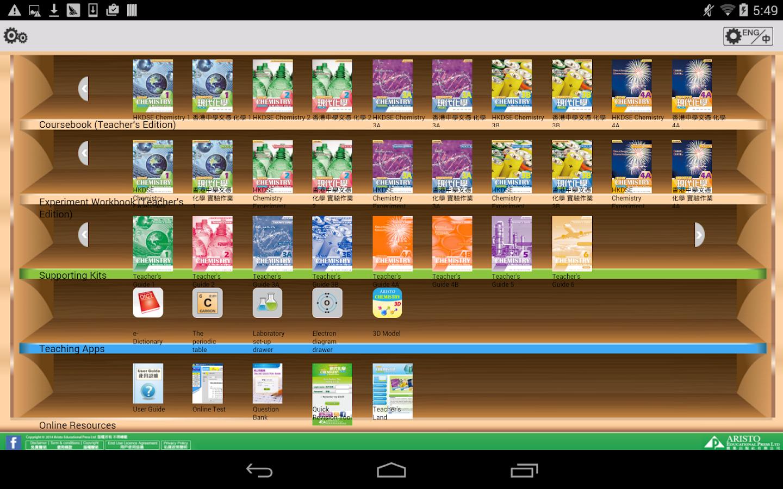 Aristo Chemistry e-Bookshelf - Android Apps on Google Play