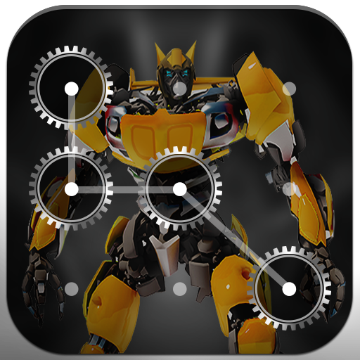 3D Hero Lock Screen - Pattern & Password Lock