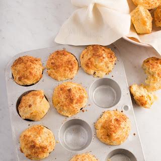 Savory Sweet Potato & Parmesan Muffins.