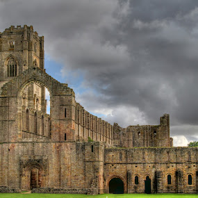 Fountains Abbey by Jon Sellers - Buildings & Architecture Places of Worship