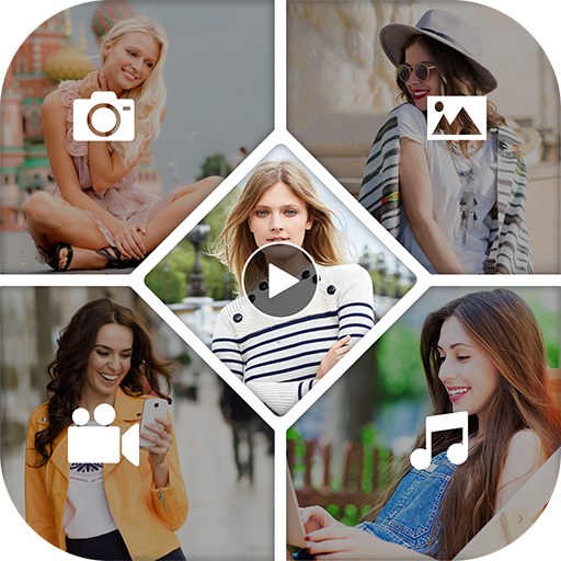 3D Video Collage Maker / Editor