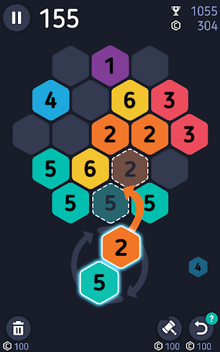 Make7! Hexa Puzzle screenshot 1