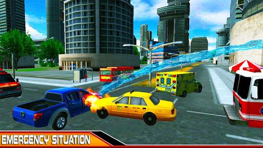 NewYork Rescue Firefighter Emergency truck sim2019  screenshots 4