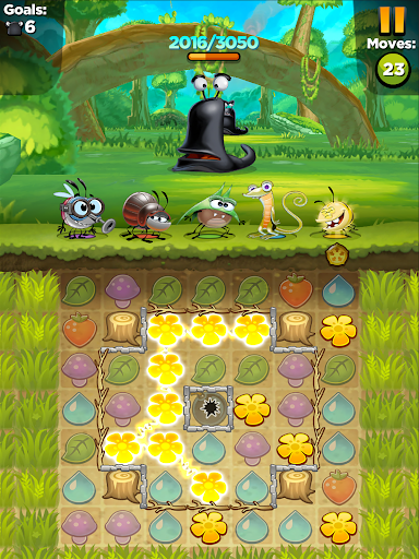Best Fiends - Free Puzzle Game apktram screenshots 16