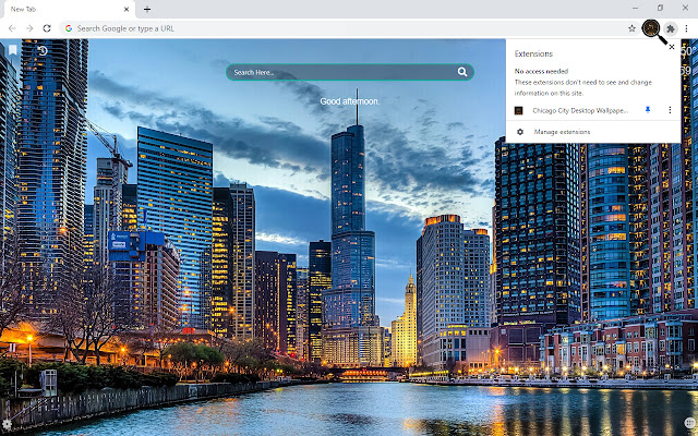 Chicago City HD Wallpapers New Tab