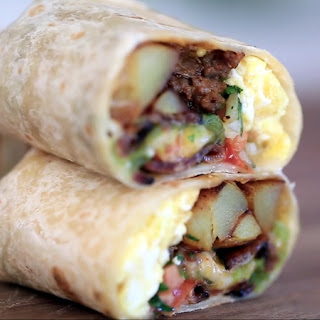 Meat And Potato Breakfast Burrito Recipes