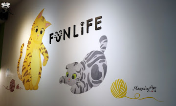 FunLife-Gelato。Cats。Cafe