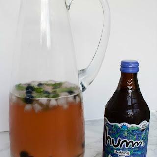 Blueberry Mint Kombucha Sangria Recipe