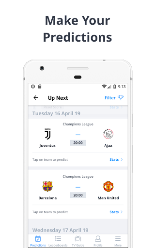 Forscore - Football Predictor 2.4.0 screenshots 1