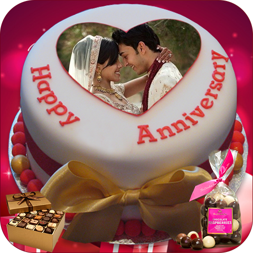 Name Photo On Anniversary Cake Couple Frames Hd Apps On Google Play