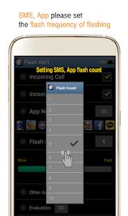 Flash Alert - Flicker Light - náhled