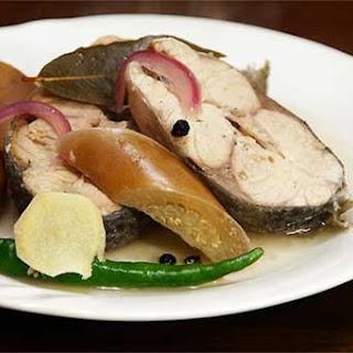 Paksiw na Bangus (Milkfish Stewed in Vinegar)
