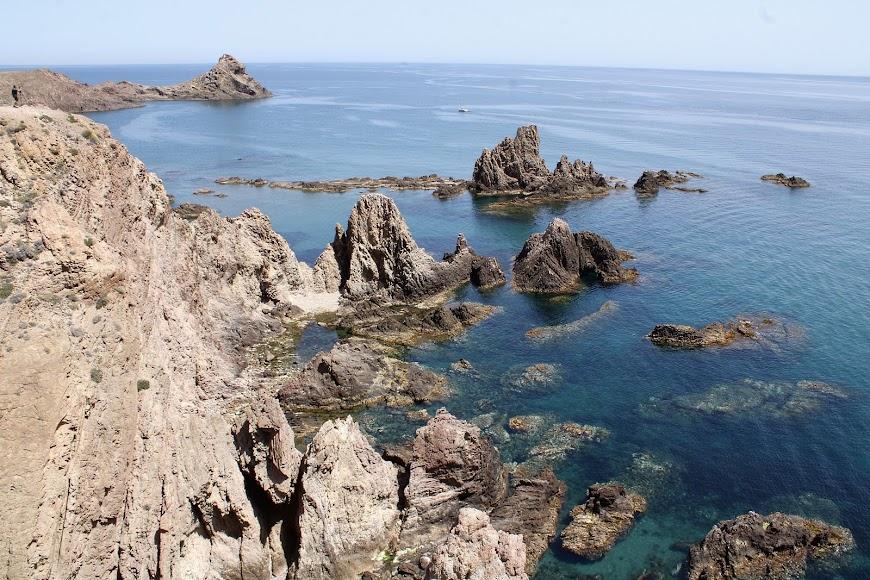 Arrecife de las Sirenas, Cabo de Gata.