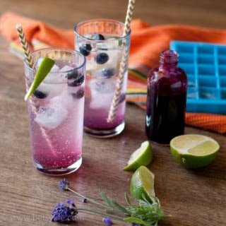 Blueberry Lavender Fizz Cocktails Recipe