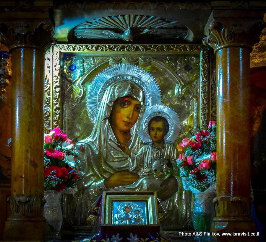 Чудотворная икона Пресвятая Богородица Иерусалимская.