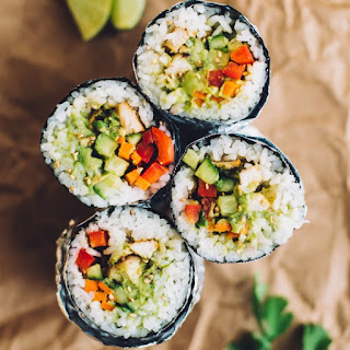 How to Make a Sushi Burrito