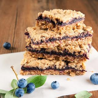 Bountiful Blueberry Crumb Bars.