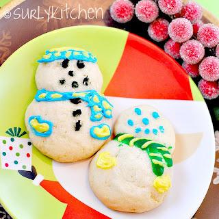 Philadelphia Snowman Cookies Recipe