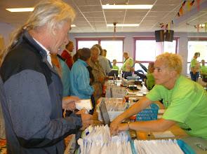 Photo: Deelnemerskaart afhalen