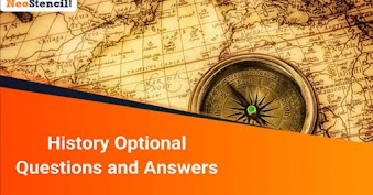 History Optional Questions and Answers