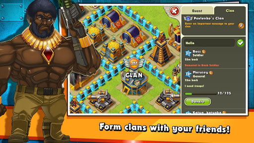 Jungle Heat: War of Clans screenshot 2