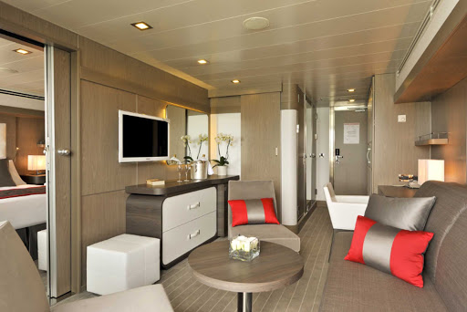 Ponant-LeBoreal-prestige.jpg - Your Prestige Suite on Le Boreal offers a spacious retreat at sea.