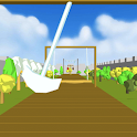 Knight running challenge icon