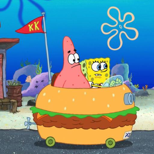 Sponge Monster Boat Racing
