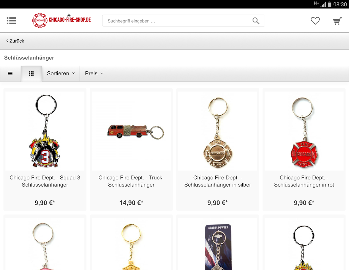 Chicago-Fire-Shop.de- screenshot