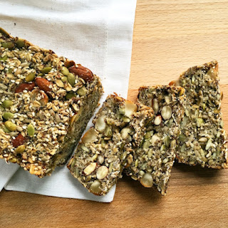 Healthy Seed and Nut Bread (gluten free + vegan).