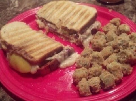 Bacon Apple Panini Recipe