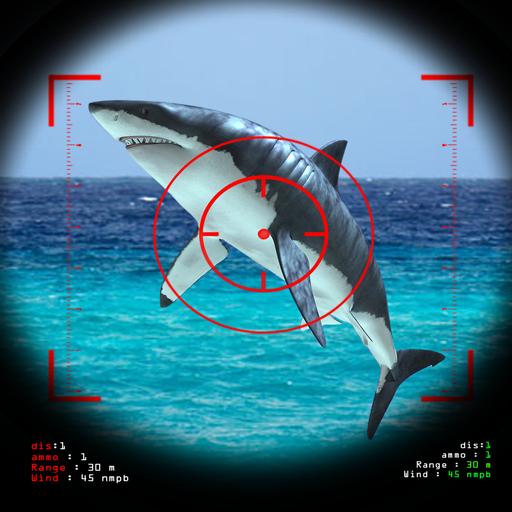 动作のハングリーサメ魚ハンター2016 LOGO-記事Game