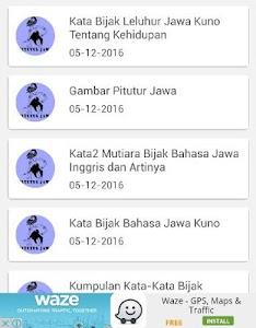 Download Pitutur Wejangan Jawa Kuno Apk Latest Version 410