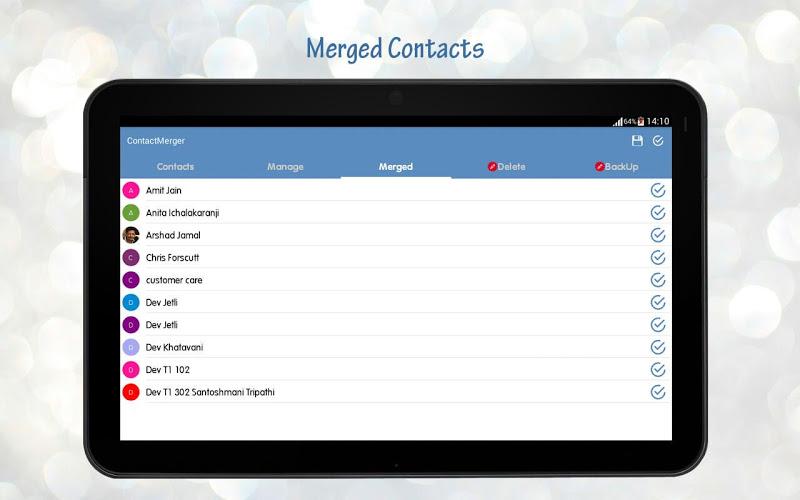 Duplicate Contact Merger Screenshot 19