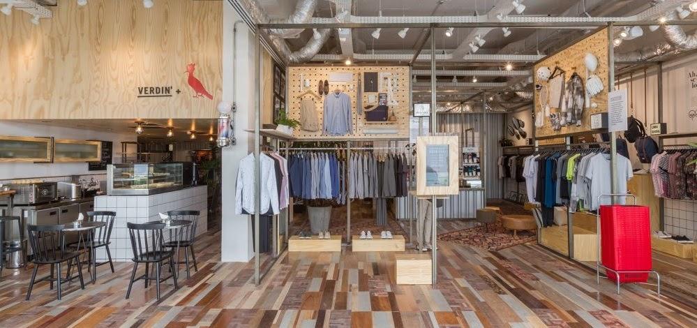 Thiết kế shop thời trang kết hợp quán cafe - thiết kế shop quần áo