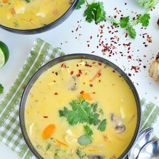 Authentic Thai Vegetable Soup.