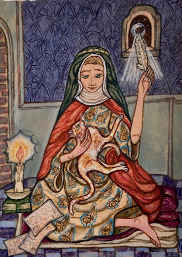Monk in the World podcast (Work) + Revelations ~ A Love Note from Your Online Abbess