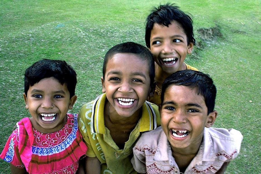 LAUGHTER by Debashis Mukherjee - People Street & Candids (  )