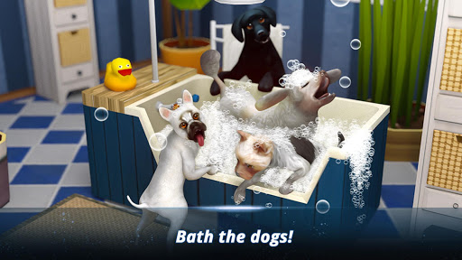 Dog Hotel u2013 Play with dogs and manage the kennels modavailable screenshots 11