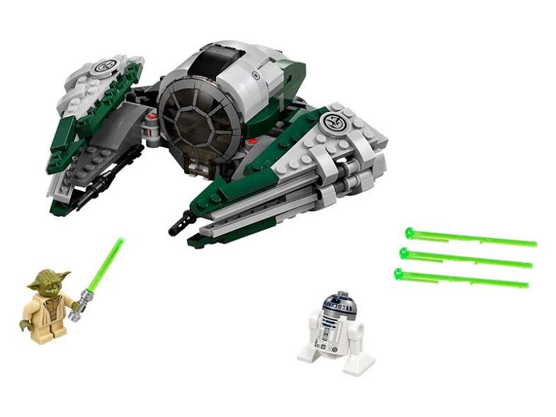 Contenido de Lego® 75168 Jedi Starfighter™ de Yoda