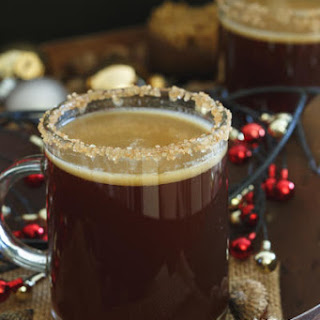 Gingerbread Hot Buttered Rum