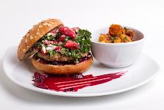 Berry Turkey Burger