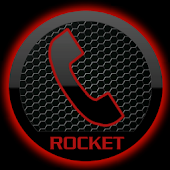 Theme Space Red RocketDial