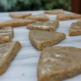 Almond Poppyseed Shortbread