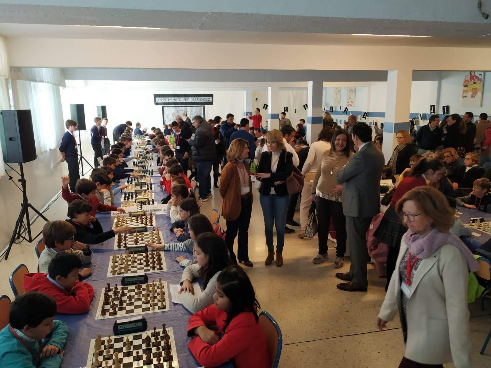 Los colegios Montecalpe y Puertoblando celebran el XVI Torneo Attendis de Ajedrez