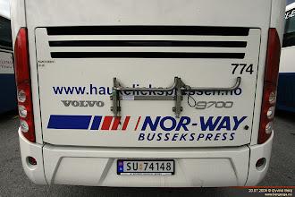 Photo: #774: SU 74148 hos Telemark Bilruter i Seljord, 20.07.2009.