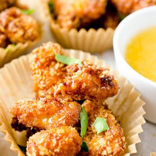 Chipotle Popcorn Chicken with Honey Mayo Recipe